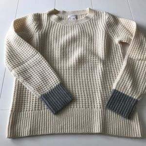 Club Monaco: 100% Cashmere Waffle Sweater